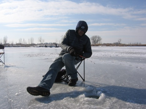 Ice Fishing at State Park