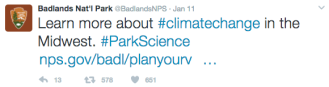 badlands-national-park-climate-change-tweet-2