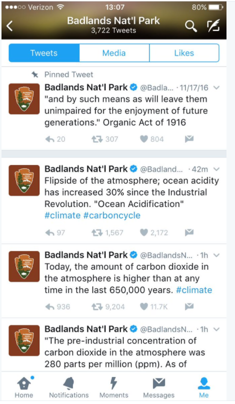 badlands-national-park-deleted-tweets