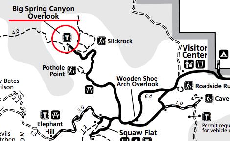 Canyonlands Needles Map - Big Sprin Canyon Overlook.png