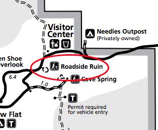 canyonlands-needles-map-roadside-ruin